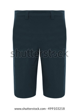 Men's shorts isolated