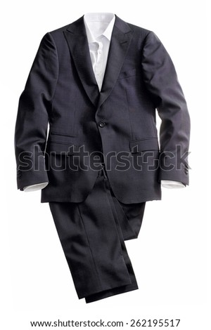 Men's Suit with Shirt