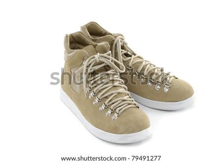 men shoe - stock photo