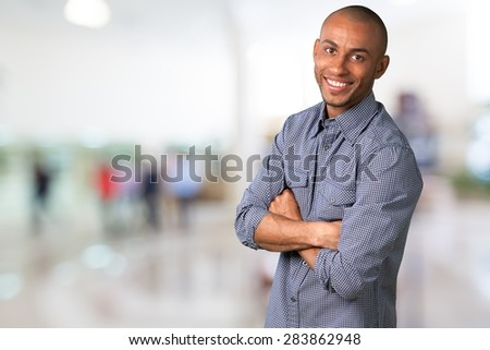 Men, Smiling, Portrait. - stock photo