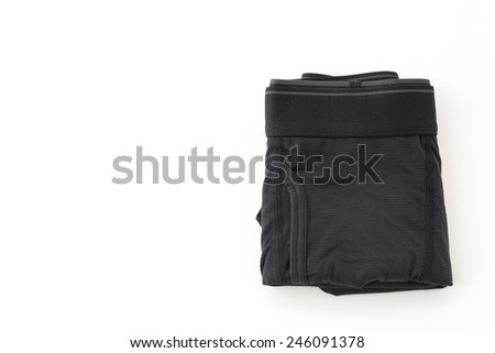 men underwear isolated on white background