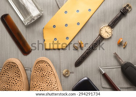 Mens Accessories    - stock photo
