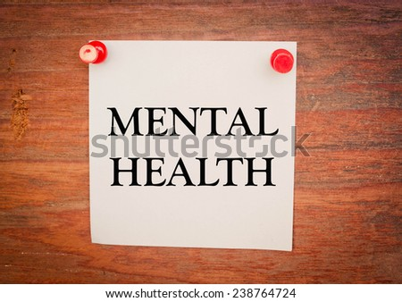 concept paper mental illness Research topics the following is a list of key areas being studied by va researchers click each topic for an overview of noteworthy past and current research, and a one-page printable fact sheet.