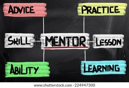 Mentoring Concept - stock photo