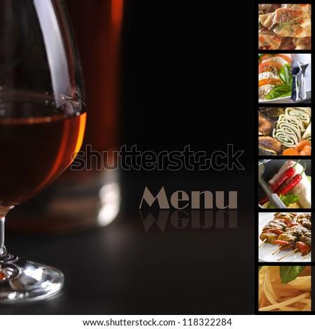 Menu - stock photo