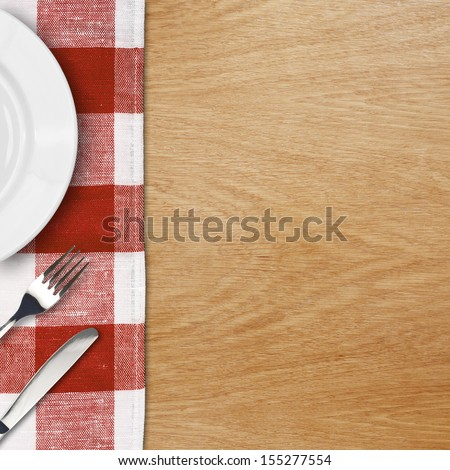 menu template - stock photo