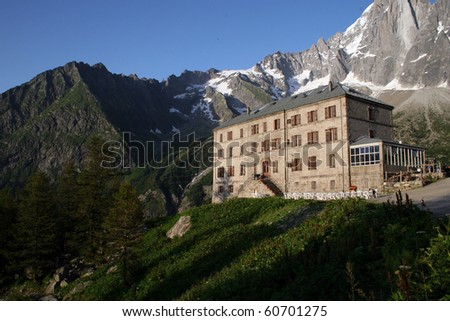 Mer de Glace Hotel in the French Alps