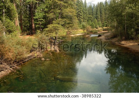 Merced River; Yosemite National Park, California