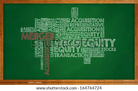 Merger Acquisition - stock photo