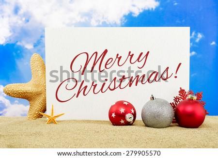 Merry Christmas - stock photo