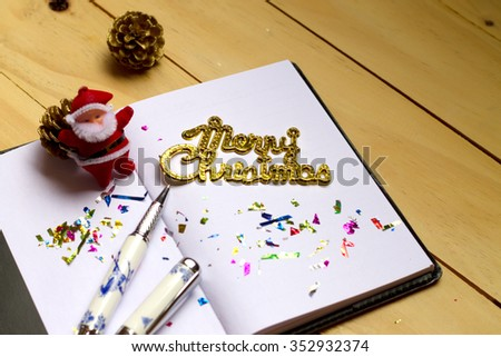 Merry Christmas and Happy new year. - stock photo