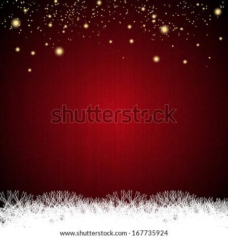 Merry Christmas background. Raster copy - stock photo