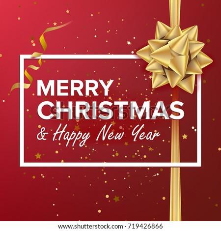Merry Christmas Card Christmas Greeting Card Stock Illustration