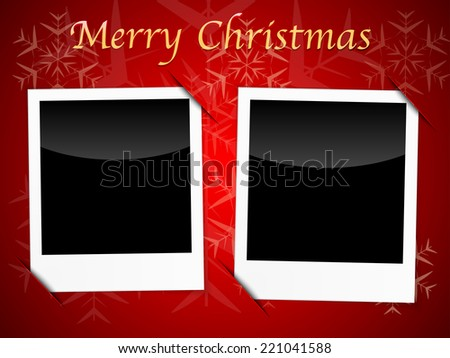 Christmas Card Photo Template Images RoyaltyFree Images – Blank Christmas Templates