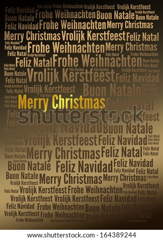 Merry Christmas holiday background, - for your holiday projects: cards, posters, invitations etc.