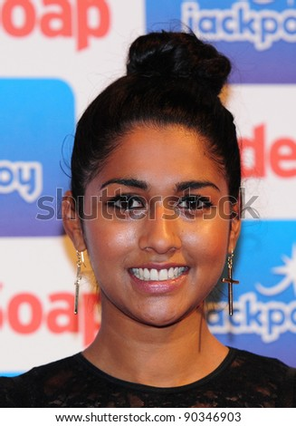 Meryl Fernandes arriving for the Inside Soap Awards 2011 at Gilgamesh, Camden, London. 26/09/2011 Picture by: Simon Burchell /  Featureflash - stock photo