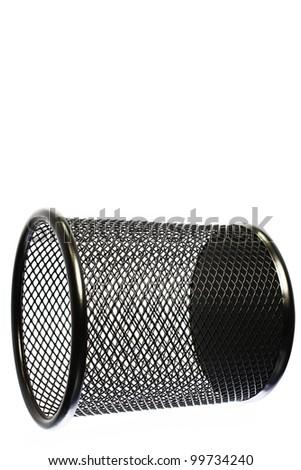 mesh basket - stock photo