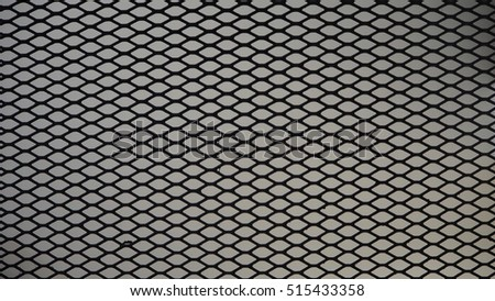 Mesh texture aluminium black pattern material background wallpaper