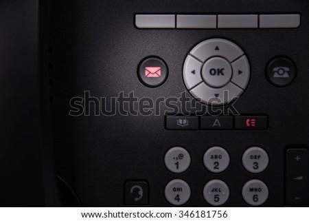 message alert light on ip phone
