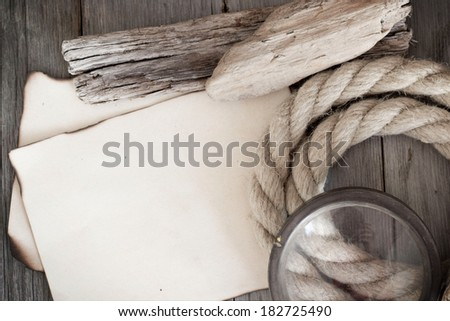 Message from traveler - stock photo