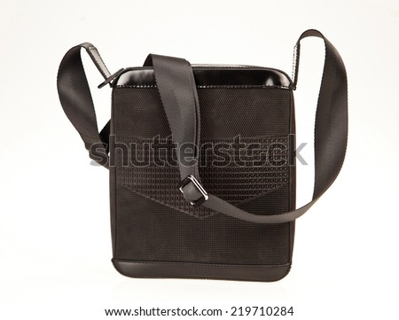 messenger bag isolated