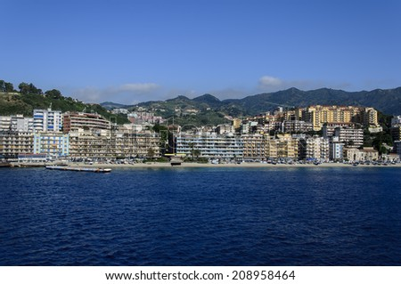 Messina, Italy - stock photo