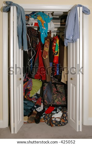 Cluttered Closet Stock Images, Royalty-Free Images ...