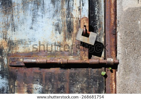 Metal and Wooden Gate