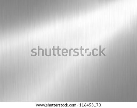 metal background - stock photo