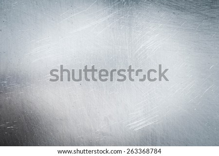 Metal background. Grange a background. Metal sheet in scratches. - stock photo