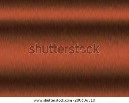 Metal background of brushed steel plate with reflections