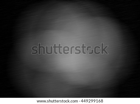 Metal background or texture of brushed steel plate with reflection