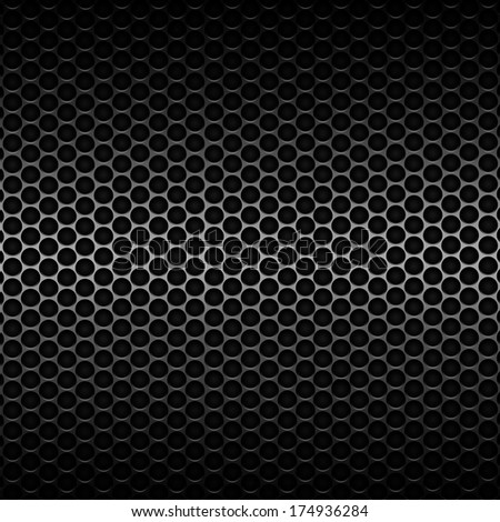 Metal background seamless background developed in PS  - stock photo
