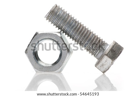 Metal Bolt and Nut