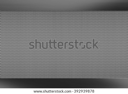 Metal brushed background, perforated metal texture for industrial design projects - stock photo