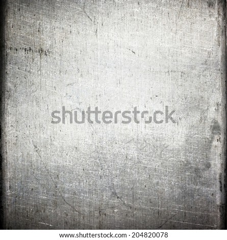 metal brushed texture  ; grunge background - stock photo