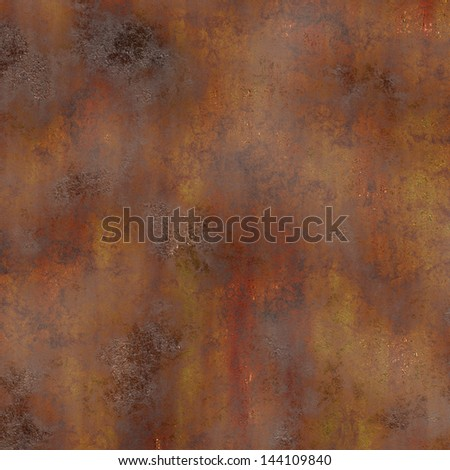metal corroded background - stock photo
