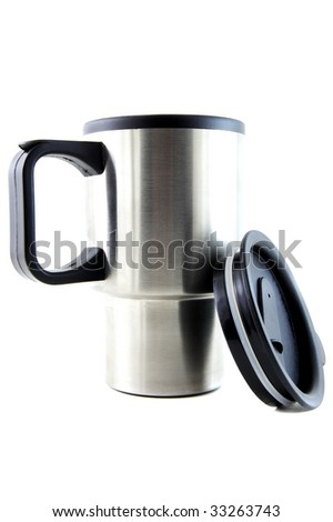 metal cup - stock photo