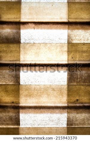 metal design background - stock photo