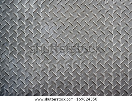 Metal diamond texture background - stock photo