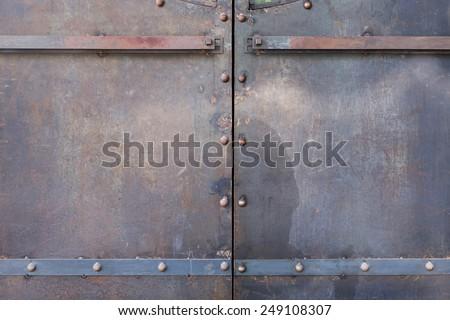 Rusty Metal Door metal door stock images, royalty-free images & vectors | shutterstock