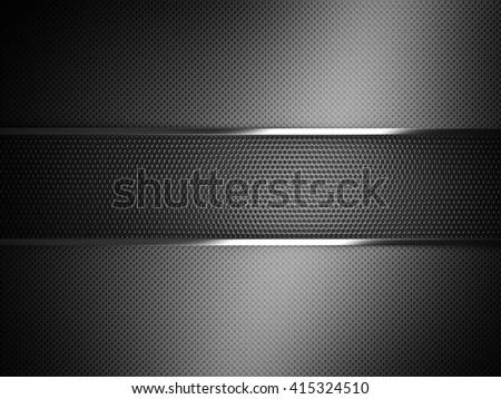 metal dot background 3d image - stock photo