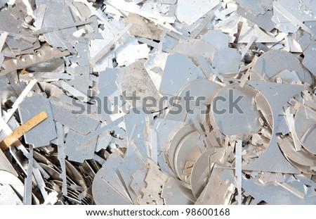 Metal finishing processing to suppress - stock photo