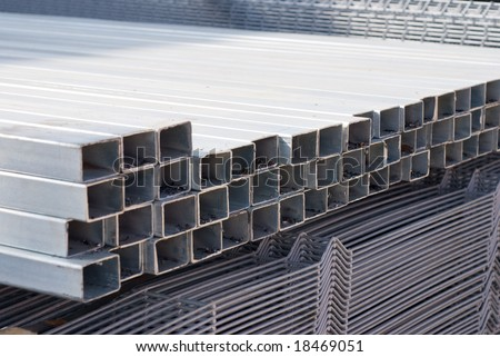 Metal fittings, construction materials