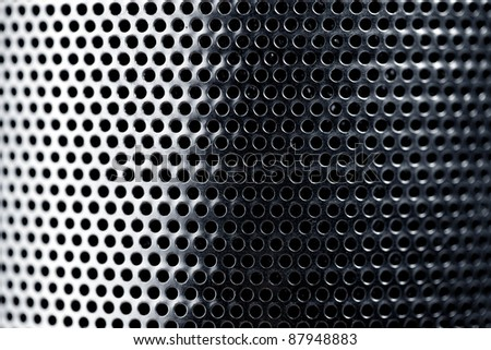 Metal grid, natural texture for decoration
