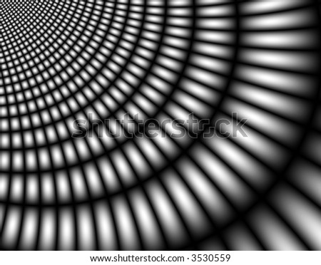 Metal grid shadow on a abstract background