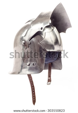 Metal historical helmet for head protection
