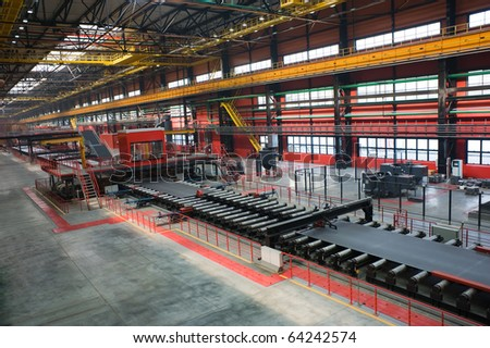 Metal Industry - stock photo
