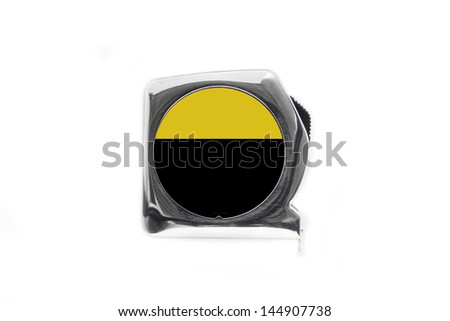 Metal Measure Front - stock photo