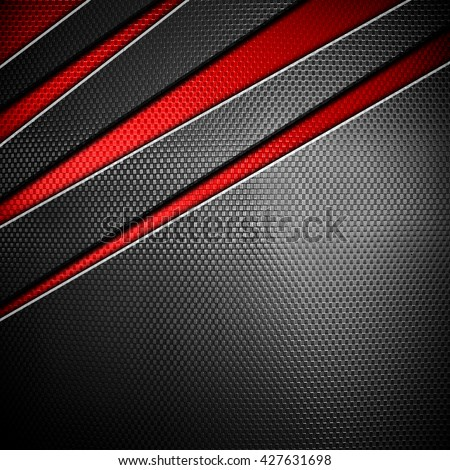 metal mesh design background - stock photo
